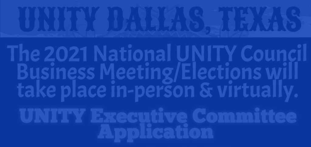 UNITY Business Elections